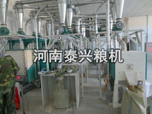 全自动石磨面粉机