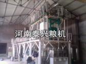 山东济宁安装的30吨级玉米加工设备案例展示