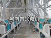 山西晋城60面粉机安装案例