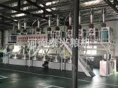 洛阳伊川县石磨面粉机组安装案例