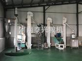 洛阳伊川县小米加工设备安装案例