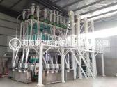 徐州15吨级玉米加工机械安装案例