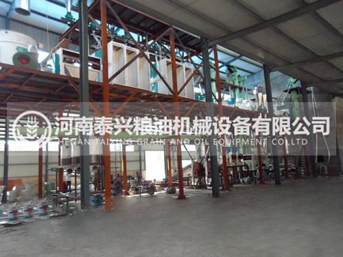 200吨玉米加工设备