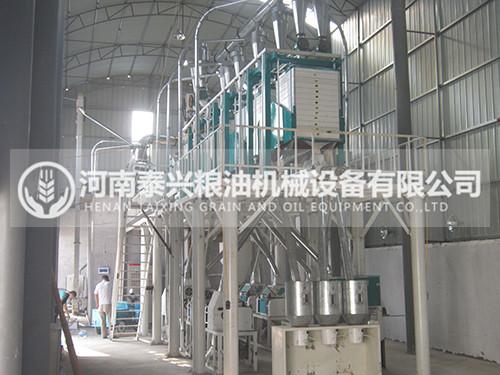 30吨级卧式面粉加工设备