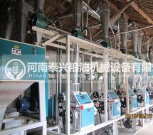 日处理20-30吨卧式面粉加工成套设备