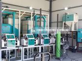 塞浦路斯30吨面粉加工设备安装中